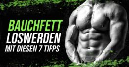 Bauchfett reduzieren - 7 Tipps zum Abnehmen am Bauch