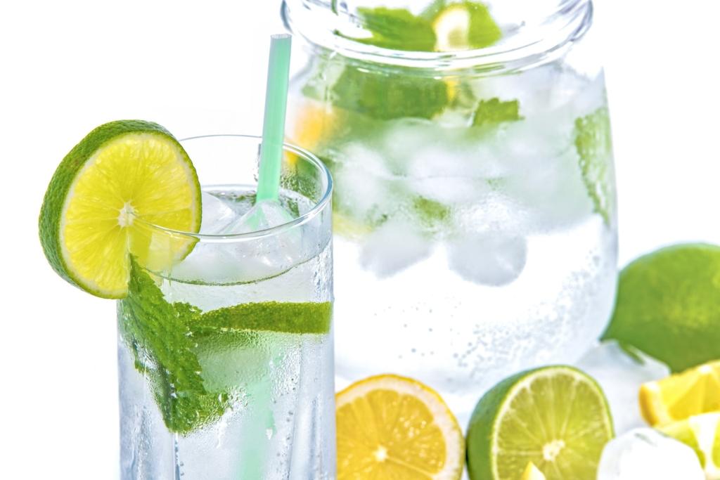 Ein Glas Wasser kurbelt den Stoffwechsel an